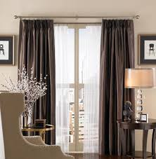 double rods for curtains double traverse rods i curtain sheers