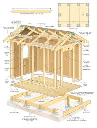 12 X 20 Modern Shed Plans by Shed Plans 14 X 36 Wood Shed Plans And Blueprints Shed Plans