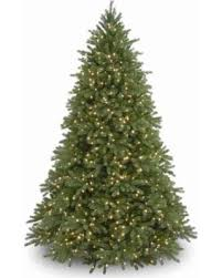 National Tree Co 9 Foot Jersey Fraser Fir Hinged Pre Lit Christmas