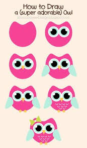 Jessica Sawyer Design How To Draw An Owl Free Clipart Pinned With Pinvolve