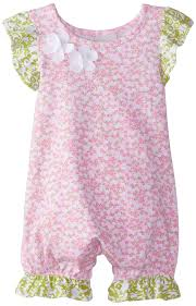 Gerber Abigail Kitchen Faucet by Amazon Com Flap Happy Baby Girls U0027 Flutter Sleeve Romper With