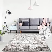 teppich flachflor läufer modern vintage im moasik look farbverlauf muster wohnzimmer schlafzimmer