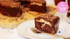 schokoladen käsekuchen schoko kuchen chocolate cheesecake einfaches rezept