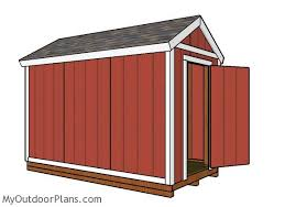 6x12 shed plans myoutdoorplans free woodworking plans and