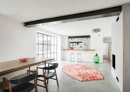 esszimmer mit kamin industrial dining room munich by