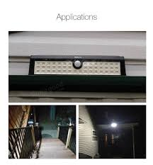 Motion Activated Outdoor Halloween Decorations by Arilux Al Sl03 Solar Powered 44 Led Pir Motion Sensor Light