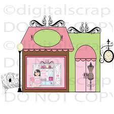 French Boutique Clipart 45