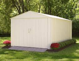 Arrow Shed Assembly Tips by Arrow Commander 10x15 Metal Shed Chd1015 A Free Shipping
