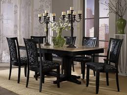 Black Kitchen Table Decorating Ideas by Dining Room Decorating Ideas Traditional White Substantial Legs