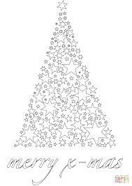 Click The Merry Xmas Card Coloring Pages To View Printable
