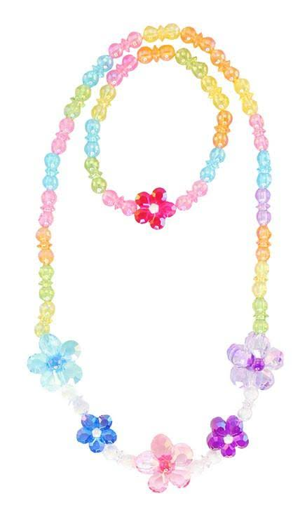 Great Pretenders Blooming Beads Necklace and Bracelet Set