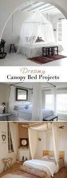 Dreamy Canopy Bed Projects O Lots Of Ideas DIY Tutorials