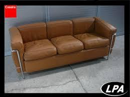 canape le corbusier canapé le corbusier lc2 mobilier design mobilier de bureau lpa