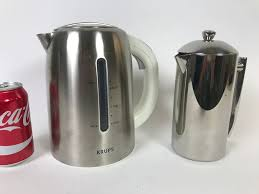 Frieling USA Double Wall Stainless Steel French Press Coffee Maker And KRUPS Thermal