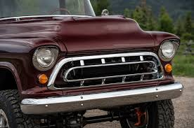 1957 Chevy Truck Grill All Chrome Grille Assembly 1957 Chevrolet ...