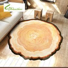 antike holz baum jährliche ring runde 3d teppich für schlafzimmer computer stuhl teppiche kinder schlafzimmer spielmatte couchtisch matten