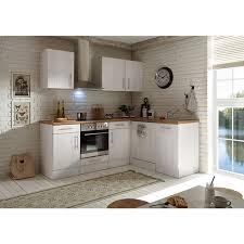 respekta premium l küchenblock landhaus 220 cm lärche weiß nachbildung