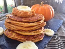 Easy Healthy Pumpkin Pancake Recipe by 4 Ingredient Pumpkin Banana Pancakes Paleo Option Too Fresh