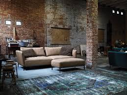 Room Rustic Living Design Exposed Brick Wall