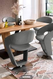 cooler drehstuhl in graublau drehstuhl esszimmer haus und