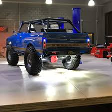 100 Axial Rc Trucks MyTrickRC 5 Inch Deluxe RC Light Bar For RC Crawlers