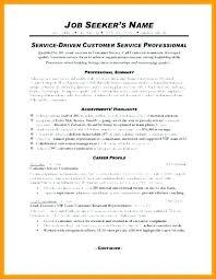 Resume Summary Examples Entry Level Luxury Technical