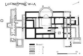 Simple Layout Of A Villa Placement by Villa Floor Plan Lullingstone After Building Plans