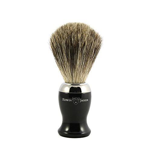 Edwin Jagger Diffusion Collection imitation Ebony & Nickel Pure Badger