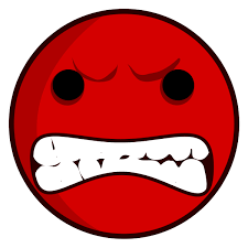 Angry Face Clip Art Black And White