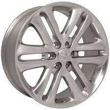 100 Rims For Ford Trucks 22x9 Wheels Fit D F150 Polished 3918 B1W SET