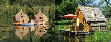 chalet sur l eau cabanes sur l eau en par région weekend gling