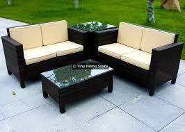patio sofa dining set garden furniture likable luxury rattan sofa dining set garden