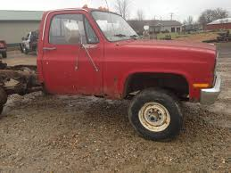 1986 Chevrolet 4x4 Cab & Chassis Parts Truck 6.2L Diesel - Classic ...