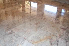 preview floor polishing orange travertine marble slate