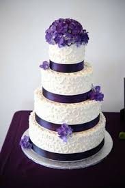Find This Pin And More On Wedding Purple White Cake