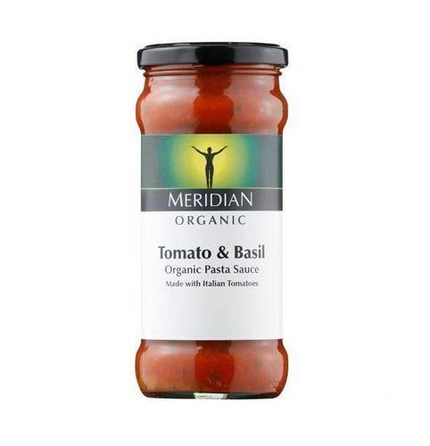 Meridian Organic and Free From Tomato and Basil Pasta Sauce - 350g