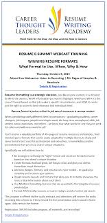 RESUME E-SUMMIT WEBCAST TRAINING. WINNING RESUME FORMATS: What ... Never Underestimate The Realty Executives Mi Invoice And Resume Live Career Login My Perfect Sign In Example Intended For Com 15 Examples Sound Engineer Any Positions 78 Live Career Resume Reviews Juliasrestaurantnjcom Careers Builder Livecareer Review Reviews Professional Makeover For Elvis Presley King Of Rock N Roll Topresume 50 Spiring Designs And What You Can Learn From Them Learn Awesome Office Manager Business Licensed Practical Nurse Sample Monster David Brooks Should Your Rsum Or Eulogy 30 View By Industry Job Title Format Marathi New