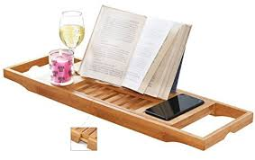 Bamboo Bathtub Caddy With Reading Rack by Bathtub Table Bathroom Above Toilet Storage Stainless Steel High