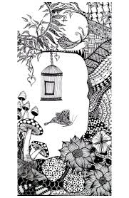 Printable Insect Animal Adult Coloring Pages Cute For Adults Hard