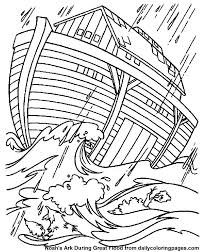 Full Image For Free Bible Coloring Pages Elijah Noahs Ark Storm Sheets Printable