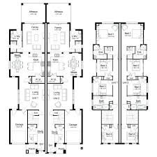 Small Duplex Floor Plans by Duplex Plans With Garage Venidami Us