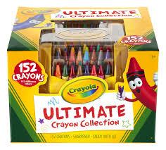 amazon com crayola ultimate crayon case 152 count prime pantry