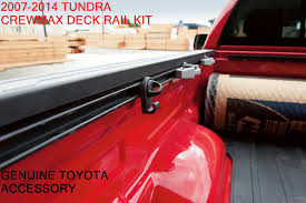 2007-2014 OEM TOYOTA TUNDRA CREWMAX DECK RAIL BED RAIL KIT / PT278 ... Toyota Tundra Truck Accsories Bozbuz Amp Research Bedxtender Hd Sport Autoeqca Sold 2014 Lifted 4x4 Sr5 In Fontana Low Profile Tonneau On Topperking 2018 Black Tundra Peterson Toyota Accsories Boise Youtube Custom Centre Modifications Sherwood Park You Need These For Your New Blog Detail 2019 Western Slope Grand Junction Jd Trucks Near Raleigh And Durham Nc Smoked Lens After Market Led Tail Lights 1417 Accories Best Image Kusaboshicom