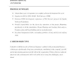 Sample Profile For Resume Career Template Personal Customer Examples