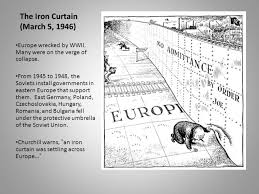 Who Coined The Iron Curtain by 100 Iron Curtain Speech 1946 Definition The Cold War