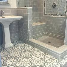mosaic tile bathroom floor ideas best cement tiles on toilet