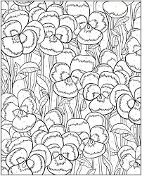 Welcome To Dover Publications Creative Haven Floral Design Color By Number Coloring Book Pg 3