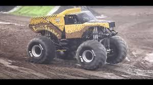 100 Monster Truck Show Miami EarthShaker Jam Freestyle Cardiff 2018 YouTube
