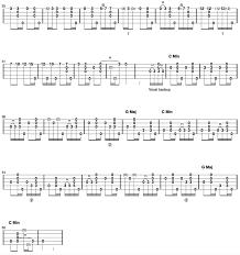 Darling Corey Clawhammer Banjo Tab Part 2