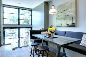 Dining Booths Booth Bench Seating With Back Banquette Set Kitchen For Home